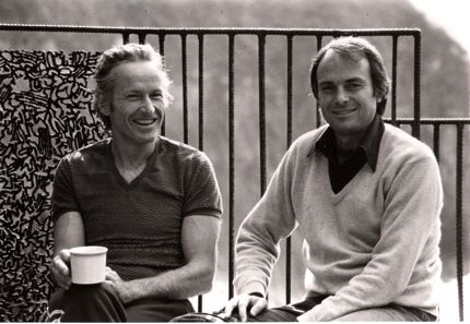 Dick Price and Michael Murphy co-founders of Esalen Institute