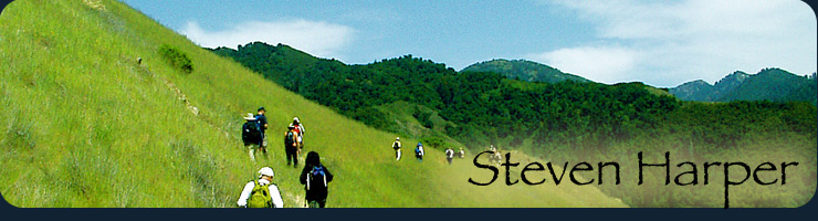 Image of hikers on a Big Sur trail